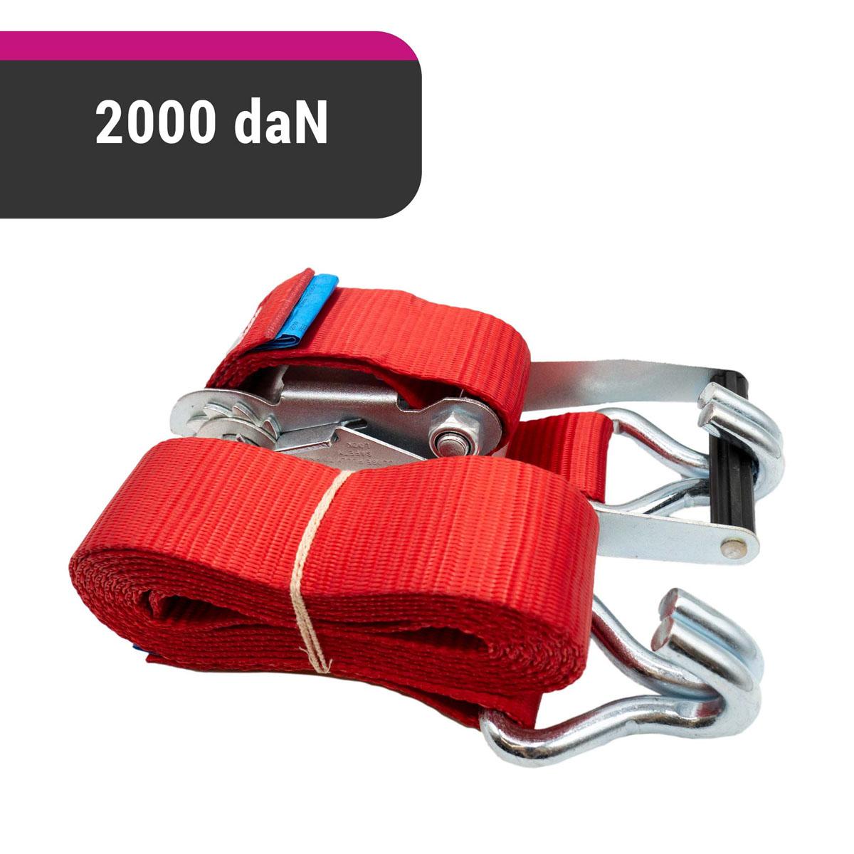 D&W Autotransport Spanngurt 50mm x 3m 2000 daN + 1x Strap 45 cm