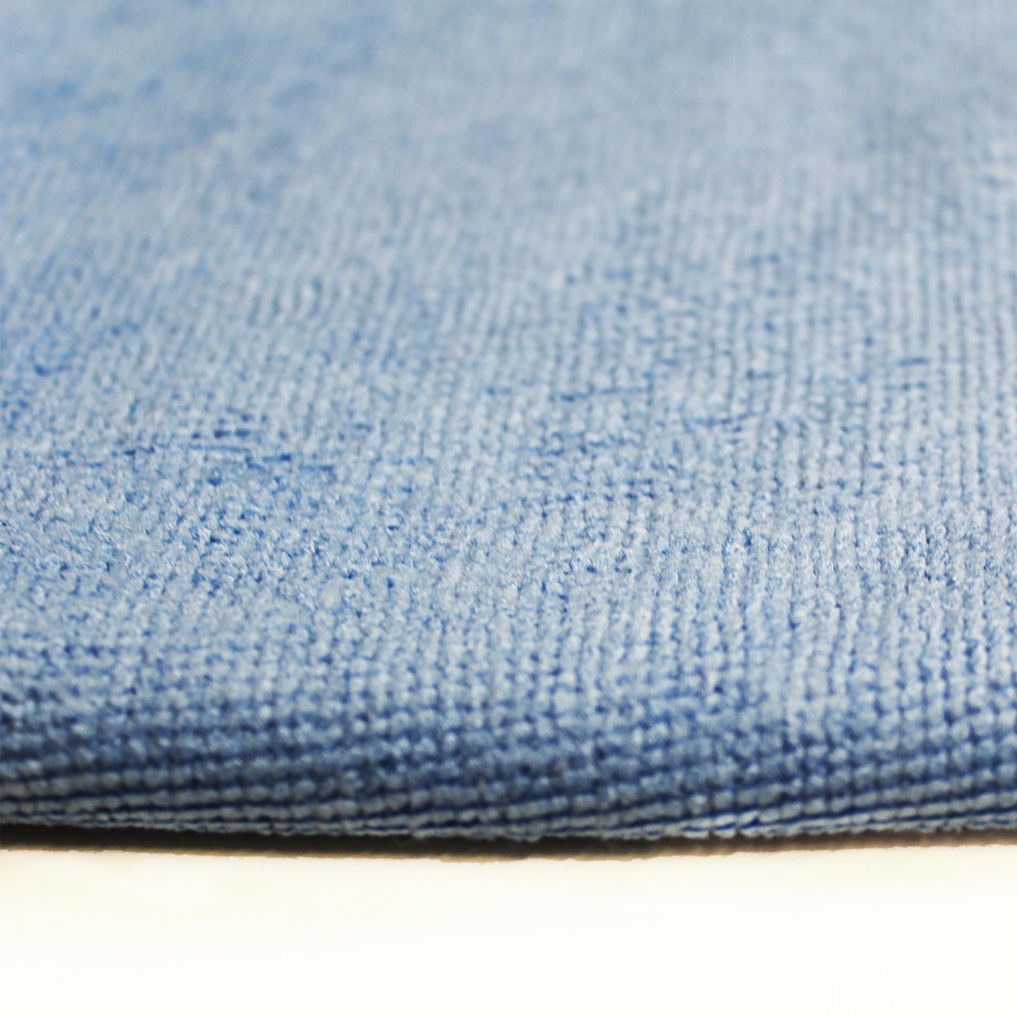 D&W Microfaser Tuch 35x35cm blau 220g/m² 10 Stück