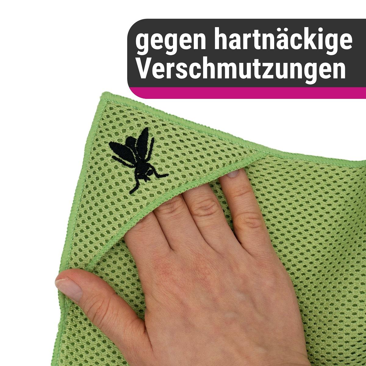 D&W Insektentuch grün 40x40cm