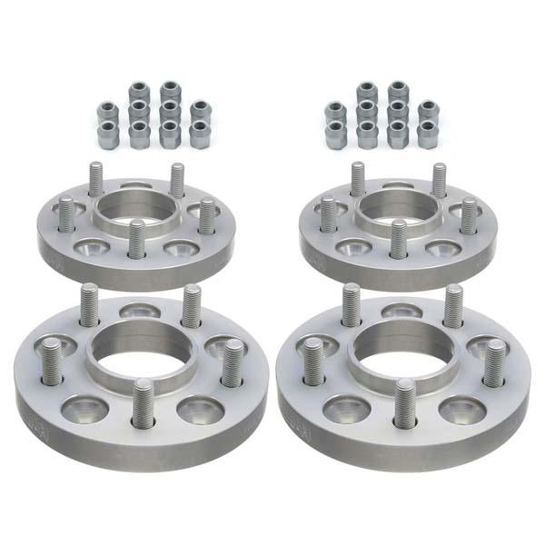 H&R Spurverbreiterung Trak+ mit ABE 11435671 VA: 10mm / HA: 18mm 5/114,3 67,1 silber