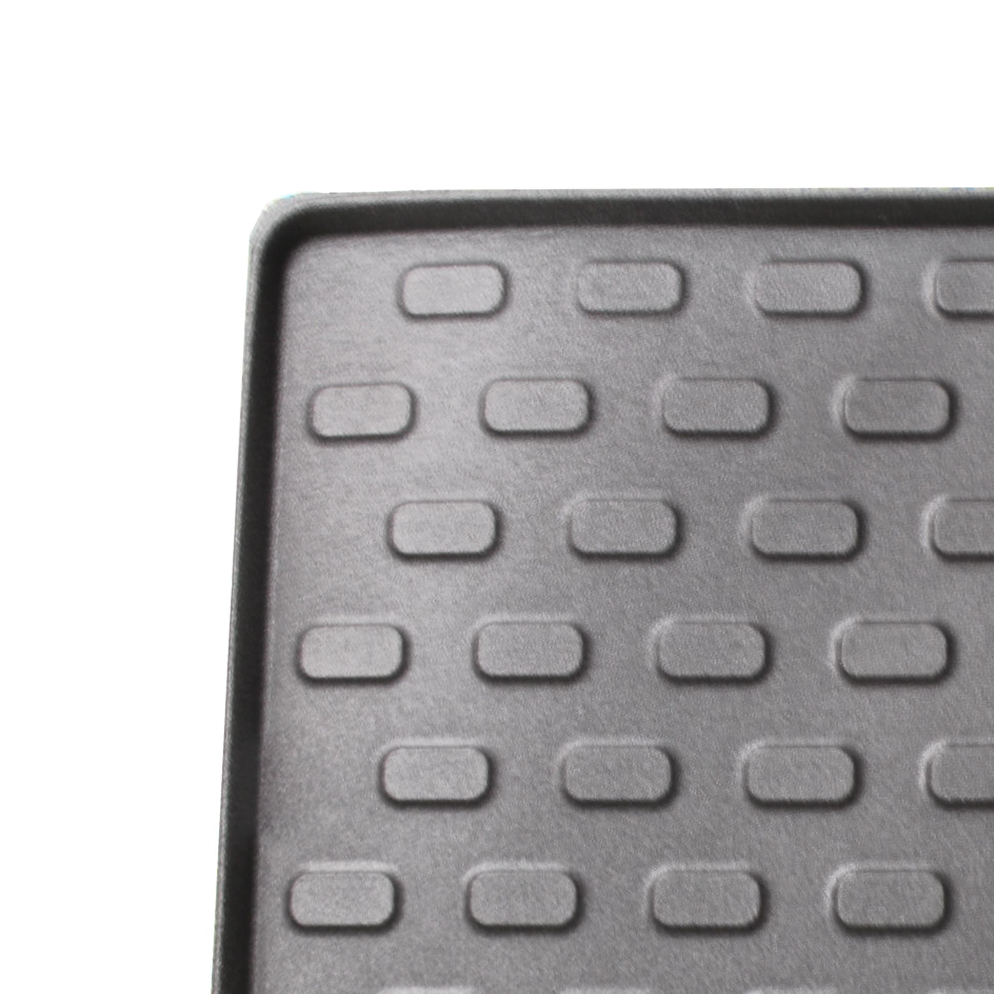 D&W Kofferraummatte universal 90x70cm schwarz