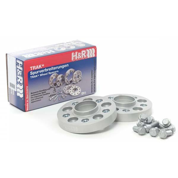 H&R Spurverbreiterung Trak+ 90757404 DRA 90mm 5/120 74,0 silber
