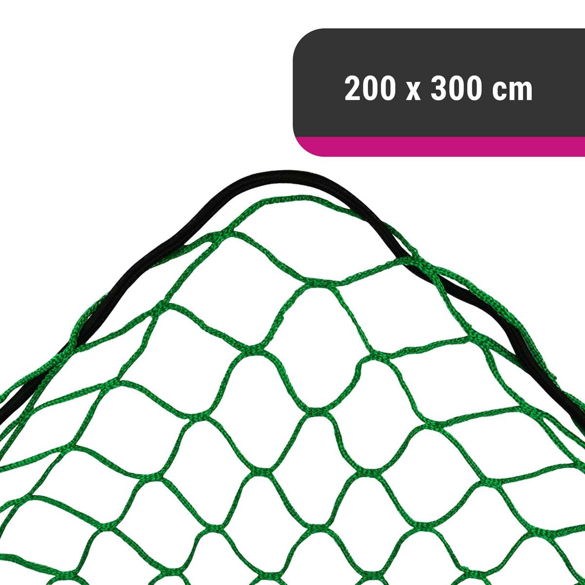 D&W elastisches Gepäcknetz für Anhänger 200 x 300 cm