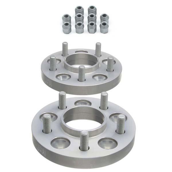 H&R Spurverbreiterung Trak+ mit ABE 1155701-18 36mm 5/115 70,1 silber