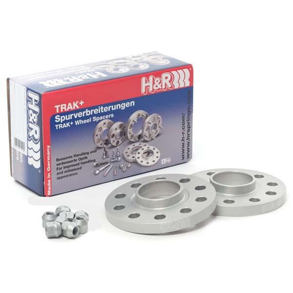 H&R Spurverbreiterung Trak+ 2034635MZ5 DRS-MZ 20mm 4/108 63,3 silber