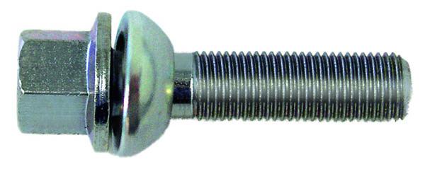 H&R Kugelbundschraube R13 mit beweglichem Kugelbund M14x1,5x39 SW17 silber