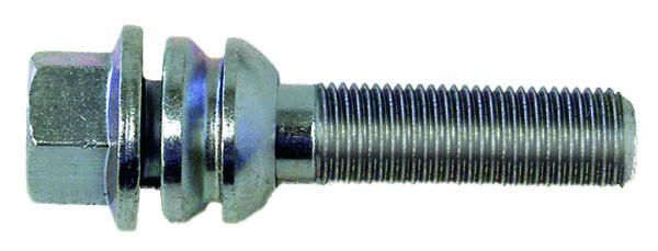 H&R Kugelbundschraube R14 mit beweglichem Kugelbund M14x1,5x59 SW19 silber