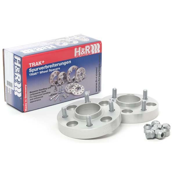H&R Spurverbreiterung Trak+ 60757257 DRM 60mm 5/120 72,5 silber