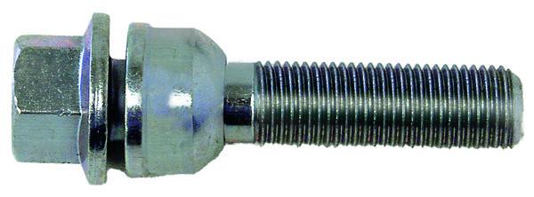 H&R Kugelbundschraube R14 mit beweglichem Kugelbund M14x1,5x42 SW17 silber